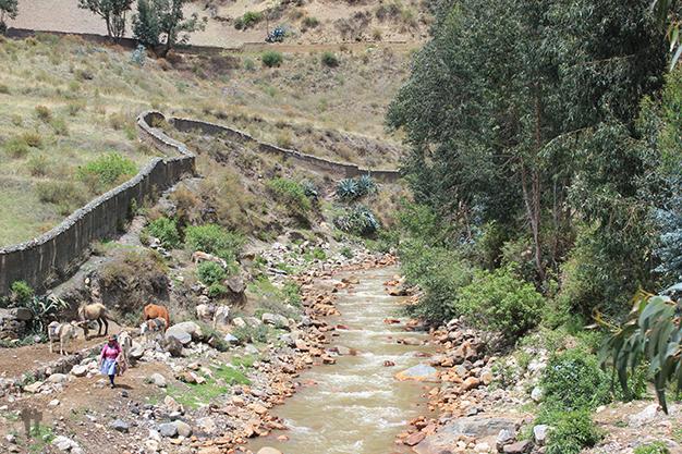 Paisajes de Chavín de Huantar