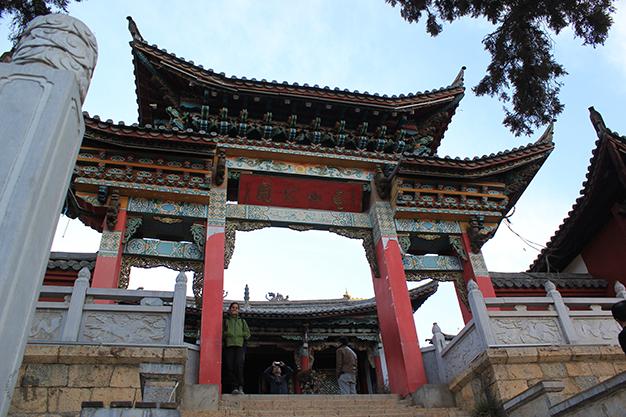 Templo en la colina