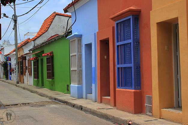Coloridas casas
