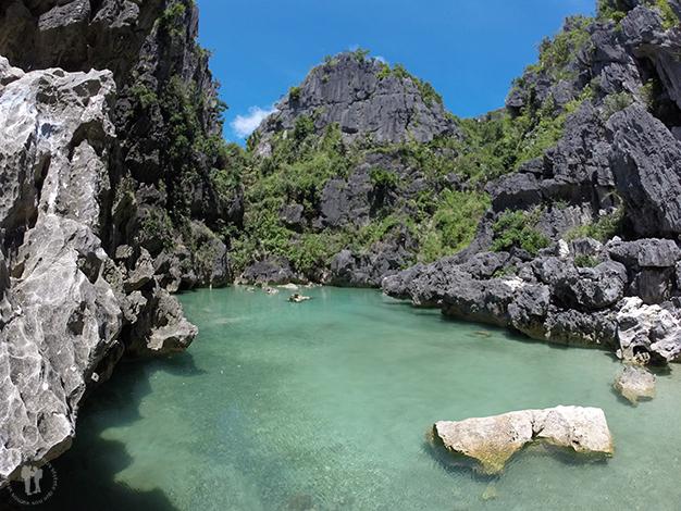 Laguna de agua salada Tangke