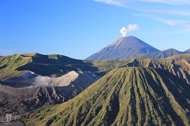 Zona volcánica del Volcán Bromo