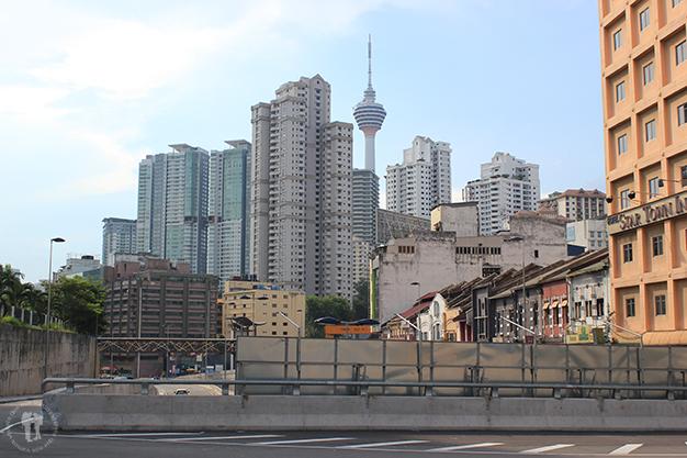 Mezcla de diferentes edificios