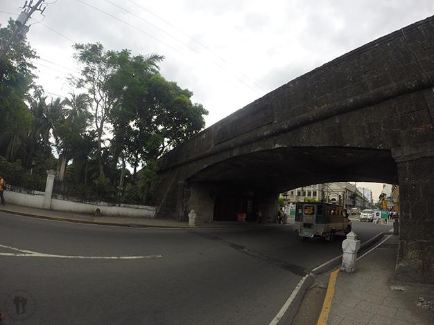 Puerta de entrada a Intramuros