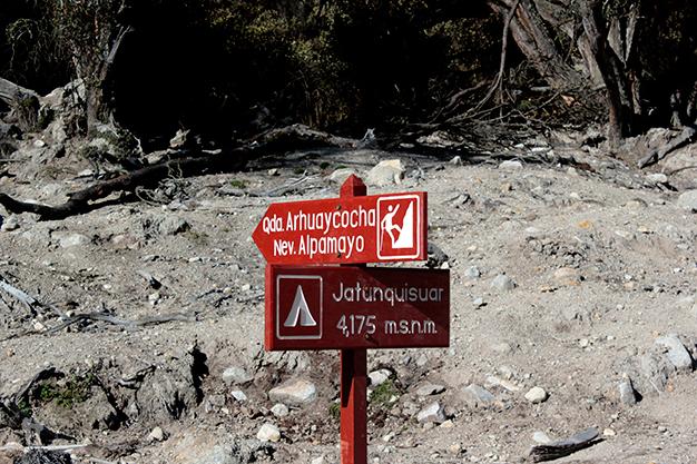 Etapa 1 - Desvío al campo base del Alpamayo