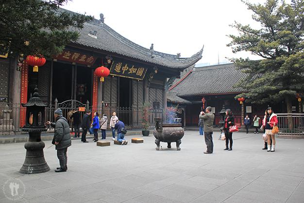 Templo Taoísta, el Ying y el Yang