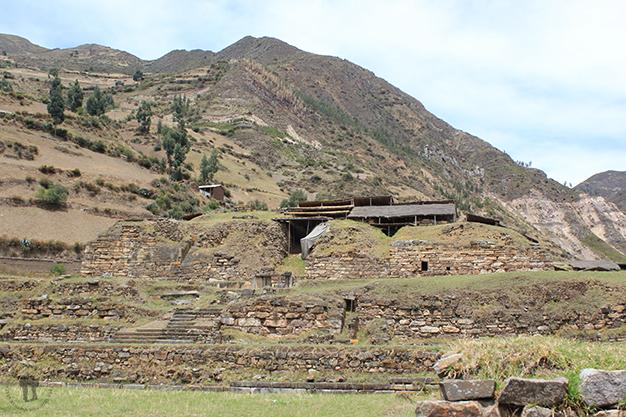Restos arqueológicos de la cultura pre-inca Chavín