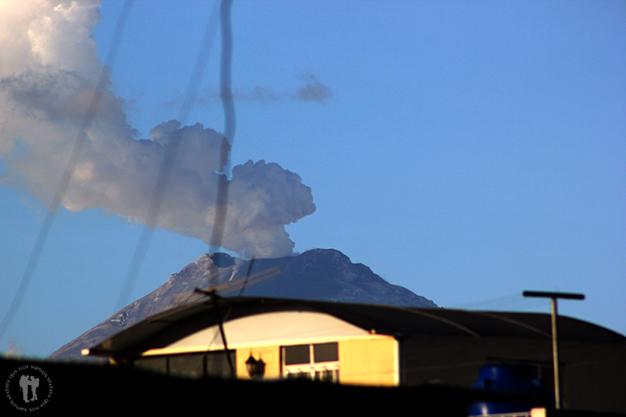 Volcán Cotopaxi desde Latacunga