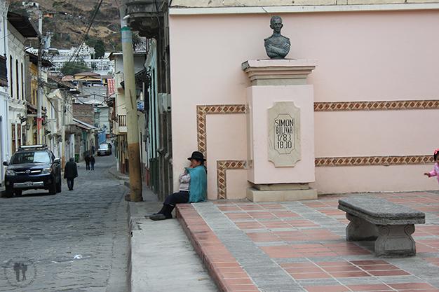 El rincón de Simón Bolívar