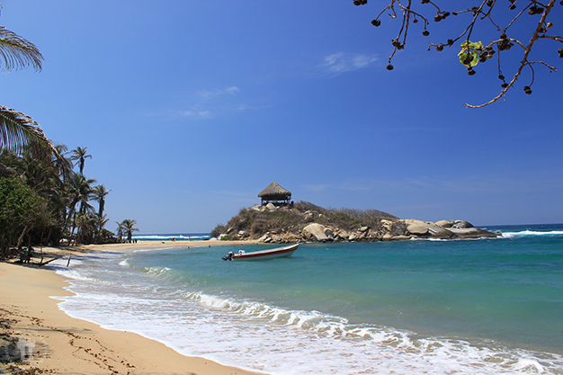 Playa la Piscina en cabo San Juan del Guía