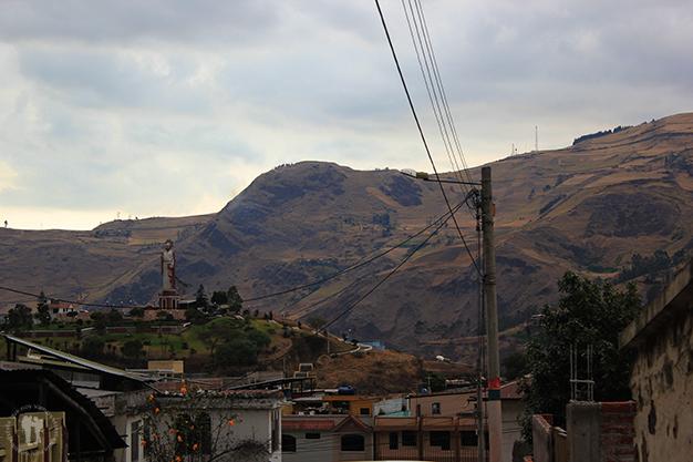 Vista del cerro de San Pedro