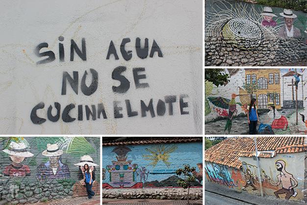 Creatividad en las calles de Cuenca