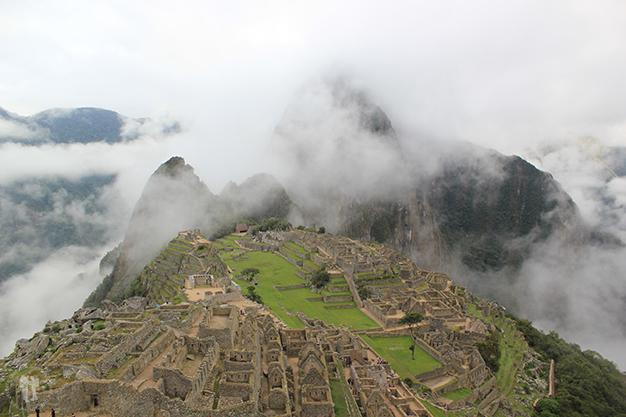 Machu Picchu entre las nubes
