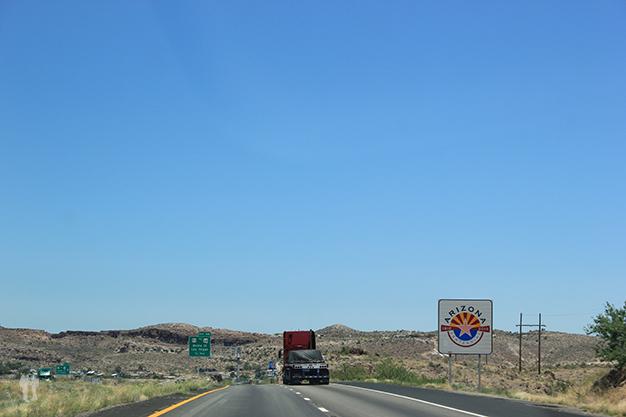 Entrando en Arizona