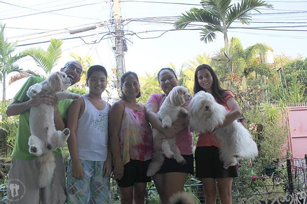 Con Weng y su familia