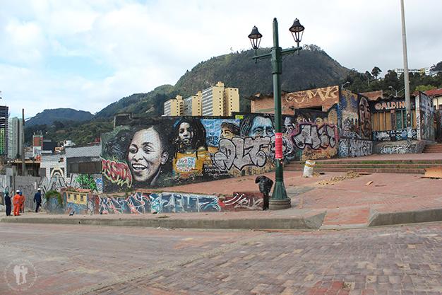 Una pequeña muestra del arte urbano de Bogotá