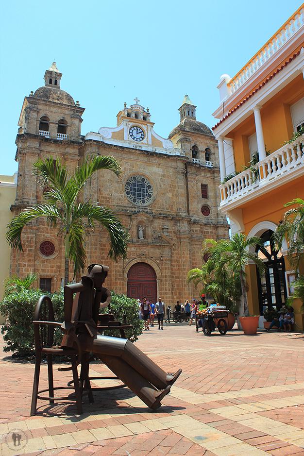 Plaza e Iglesia de San Pedro Claver