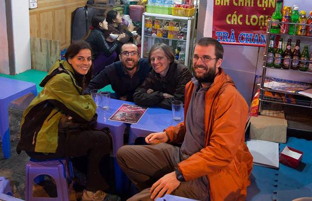 Con Itziar y Pablo. Foto realizada por: Pablo Strubell