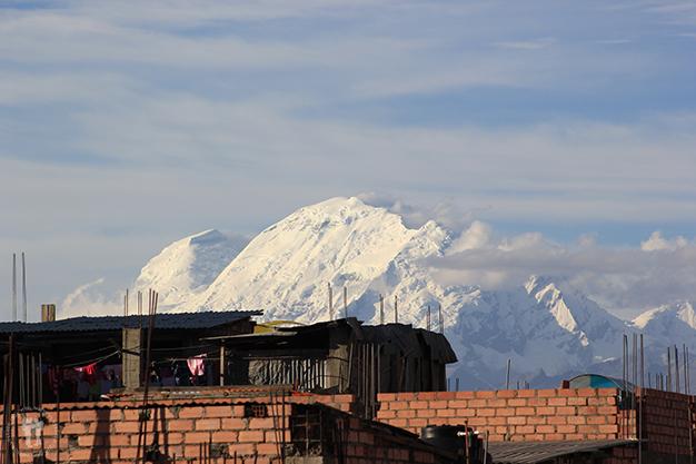 Nevado Huascarán desde Huaraz