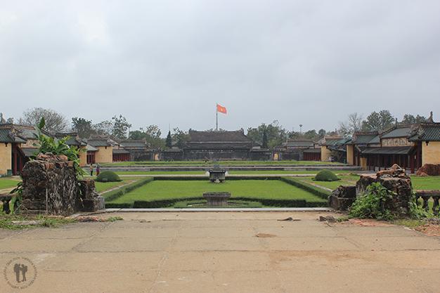 Vistas de la Ciudadela de Hué