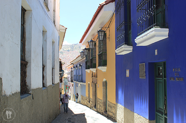 La histórica calle Jaén