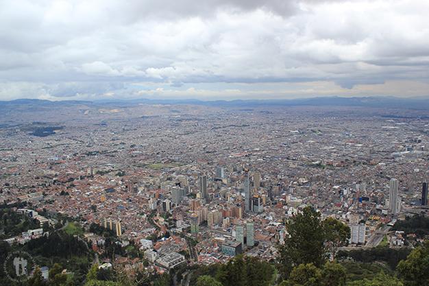 Vistas des de el cerro de Montserrate