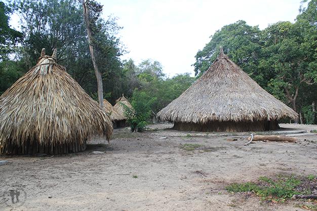 Pueblito Chairama donde habitaban los indígenas Kogui