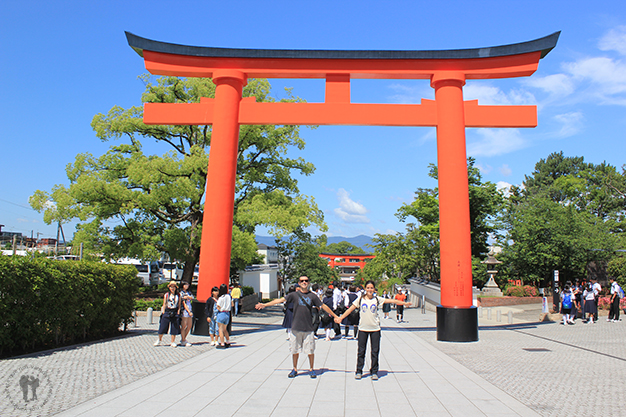 Entrada al templo Fushimi Inari -Taisha