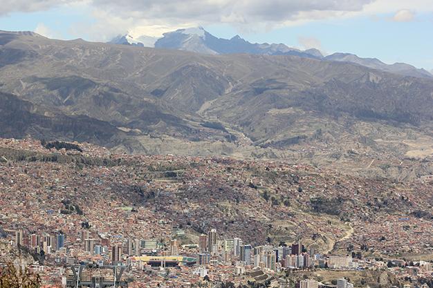 Se encuentra a casi 4000 metros de altitud