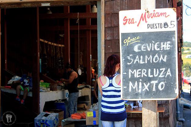 Mercado en Achao
