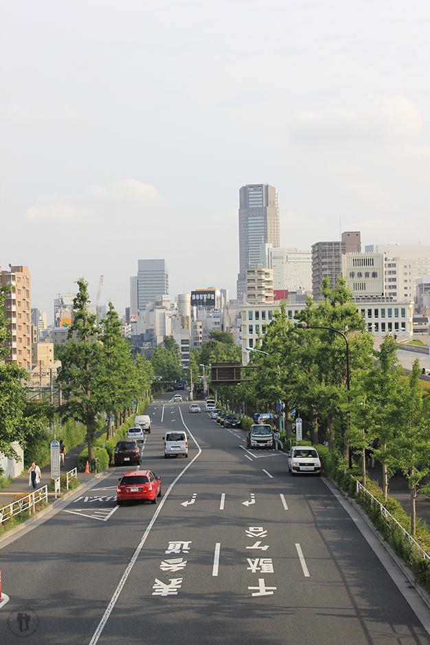 A las afueras de Tokyo