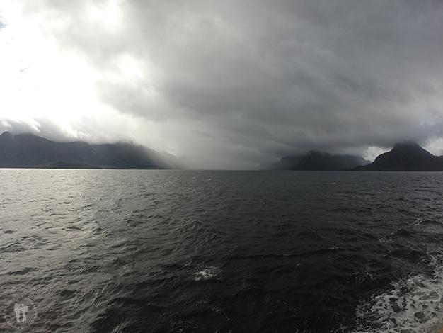 Recorrido por mar por la Patagonia Chilena