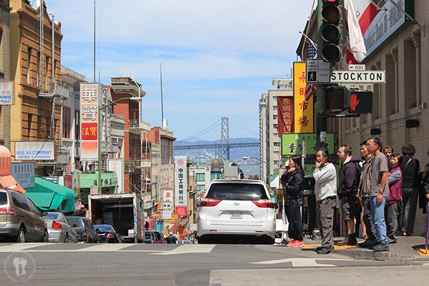 ¿China? No, el barrio chino de San Francisco