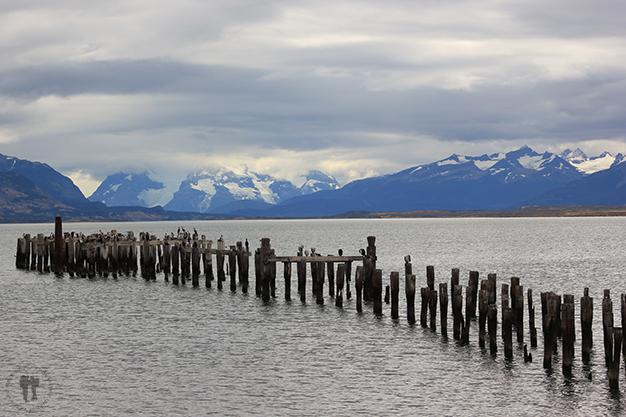 Puerto Natales a orillas del mar