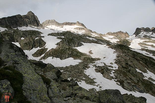 Subida hacía el glaciar de Neouvielle