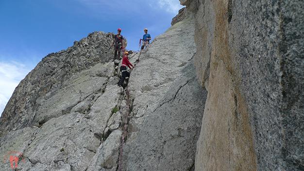 En la escalada