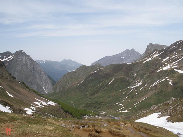 Bajando por el valle
