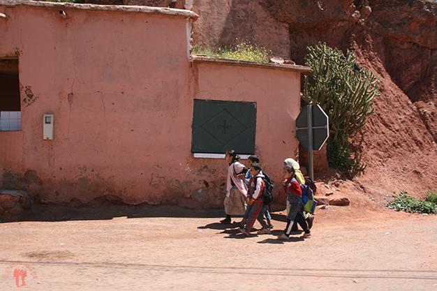 Paisajes y vida local de vuelta a Marrakech
