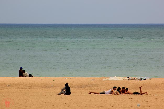 Bahía y playa de Tánger