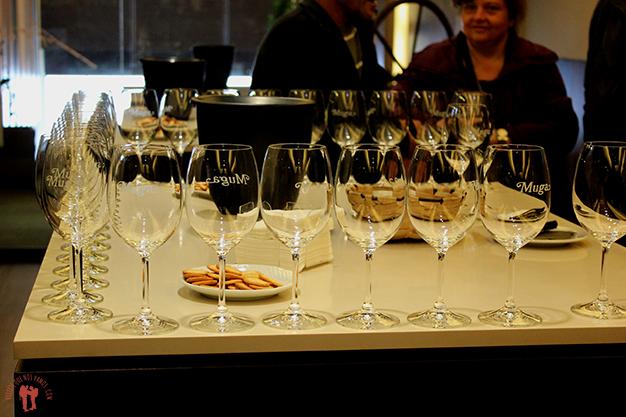 Degustación de vinos en las Bodegas Muga