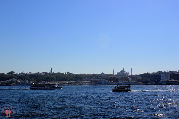 Vistas desde el Puente de Gálata