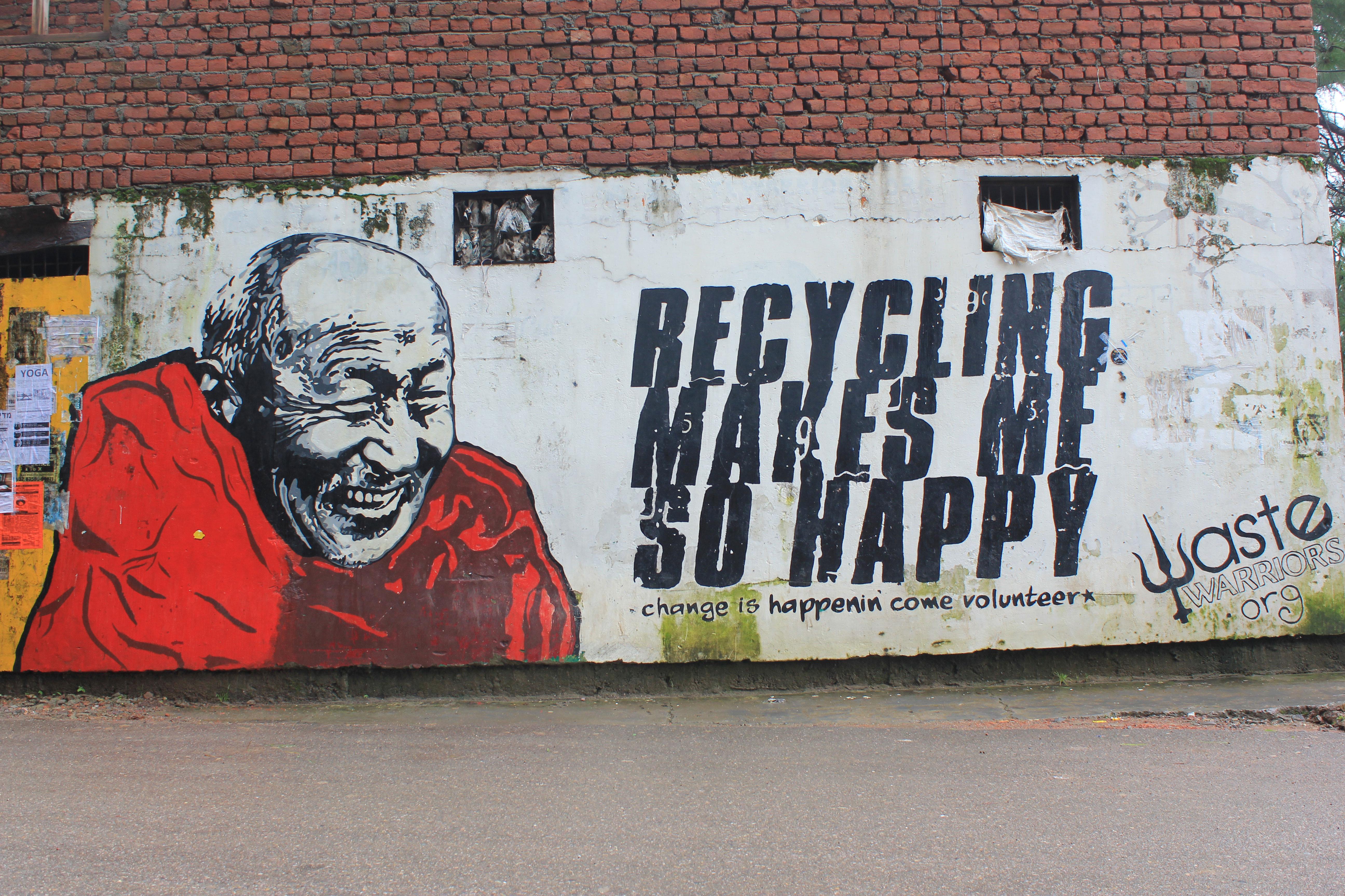 Reciclar me hace feliz