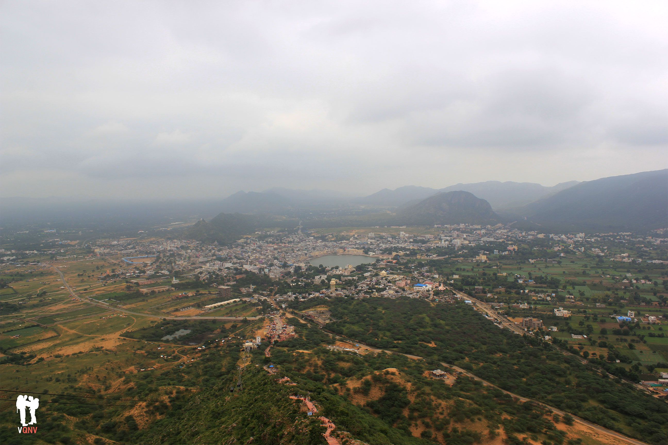 Pushkar desde el Templo Savitri