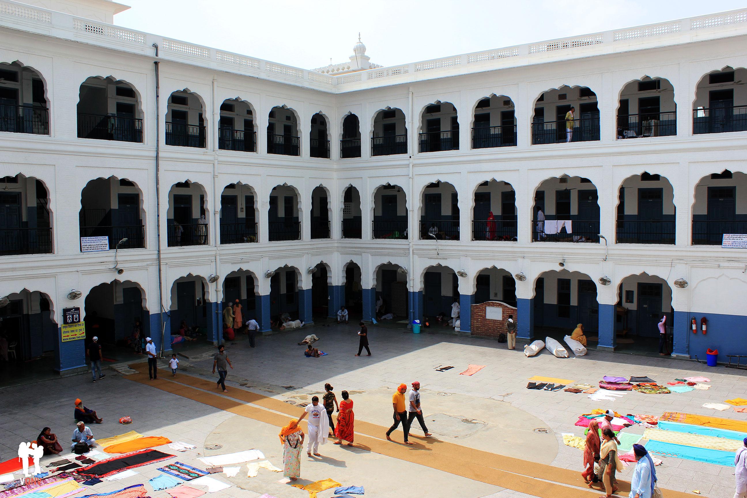 Sri Budu Rama Das, recinto para dormir
