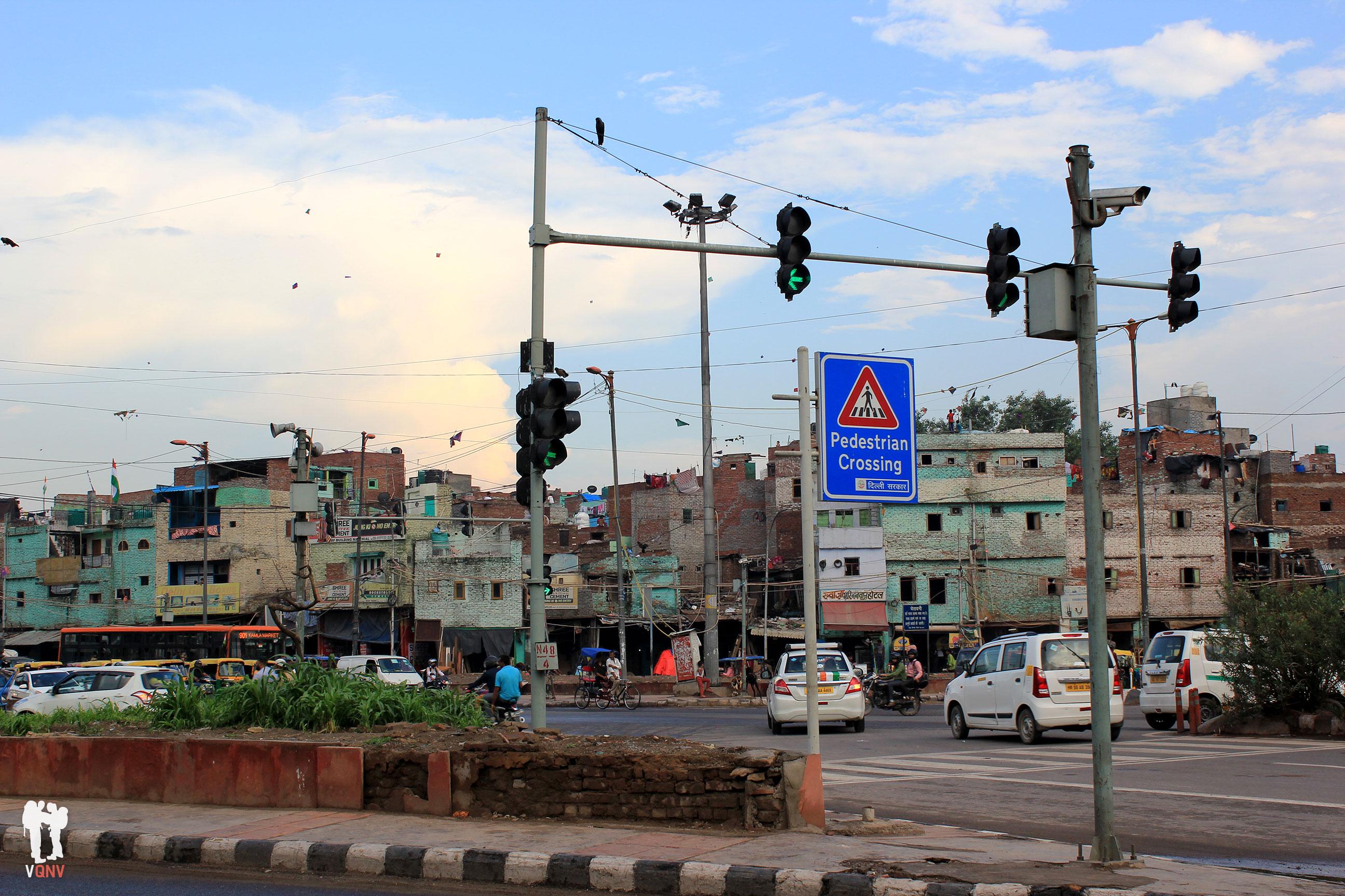 Callejeando por Delhi