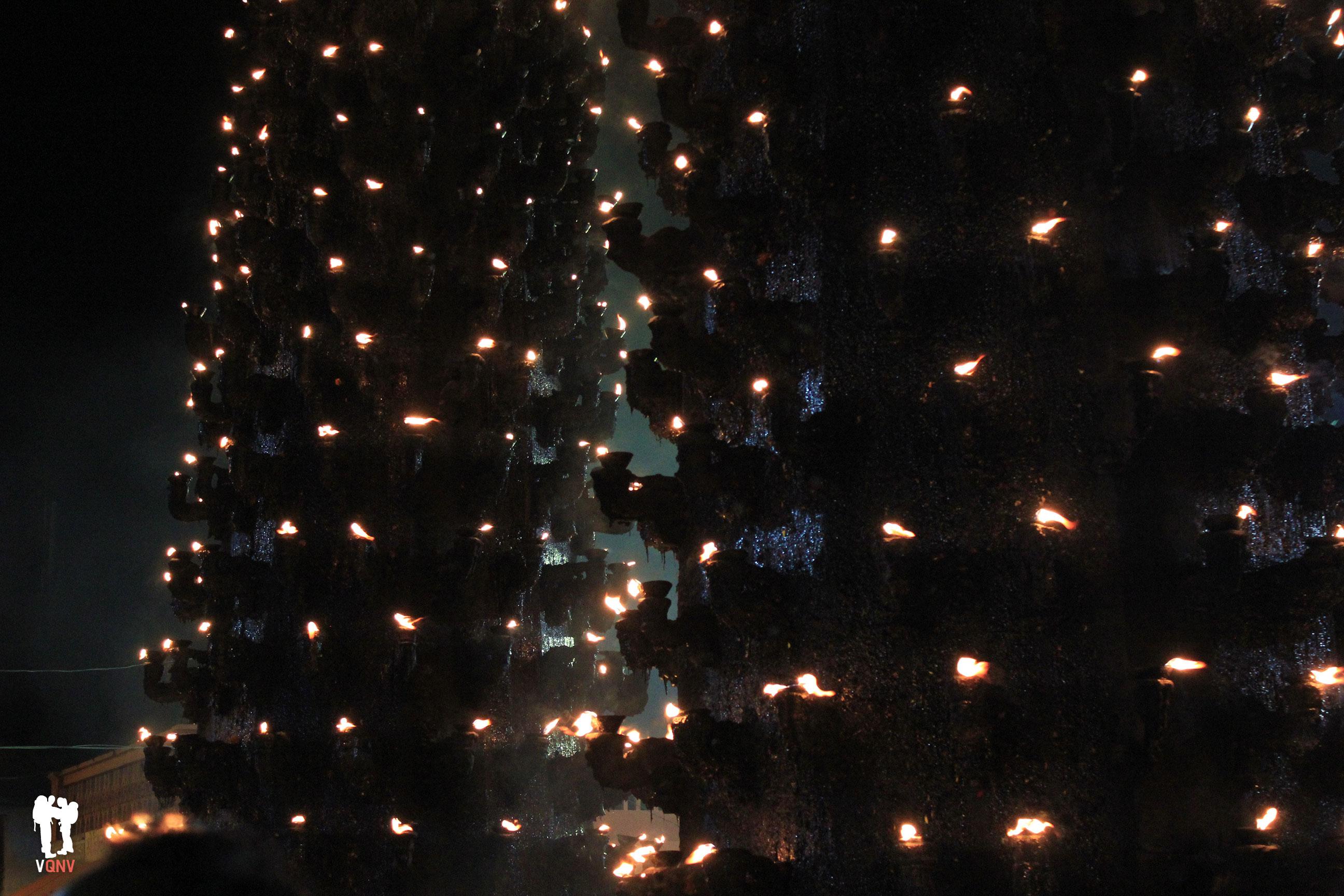 Harsiddhi Mandir iluminado