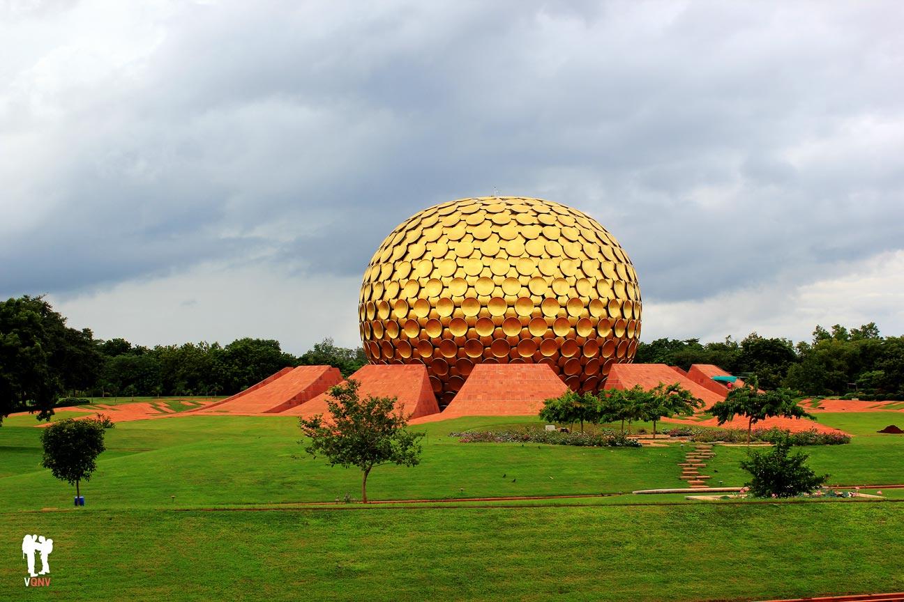 Matrimandir en Auroville