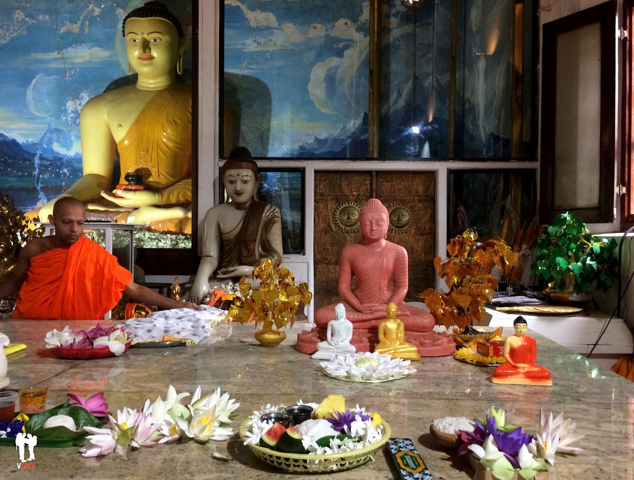 Templo en Sri Maha Bodhi
