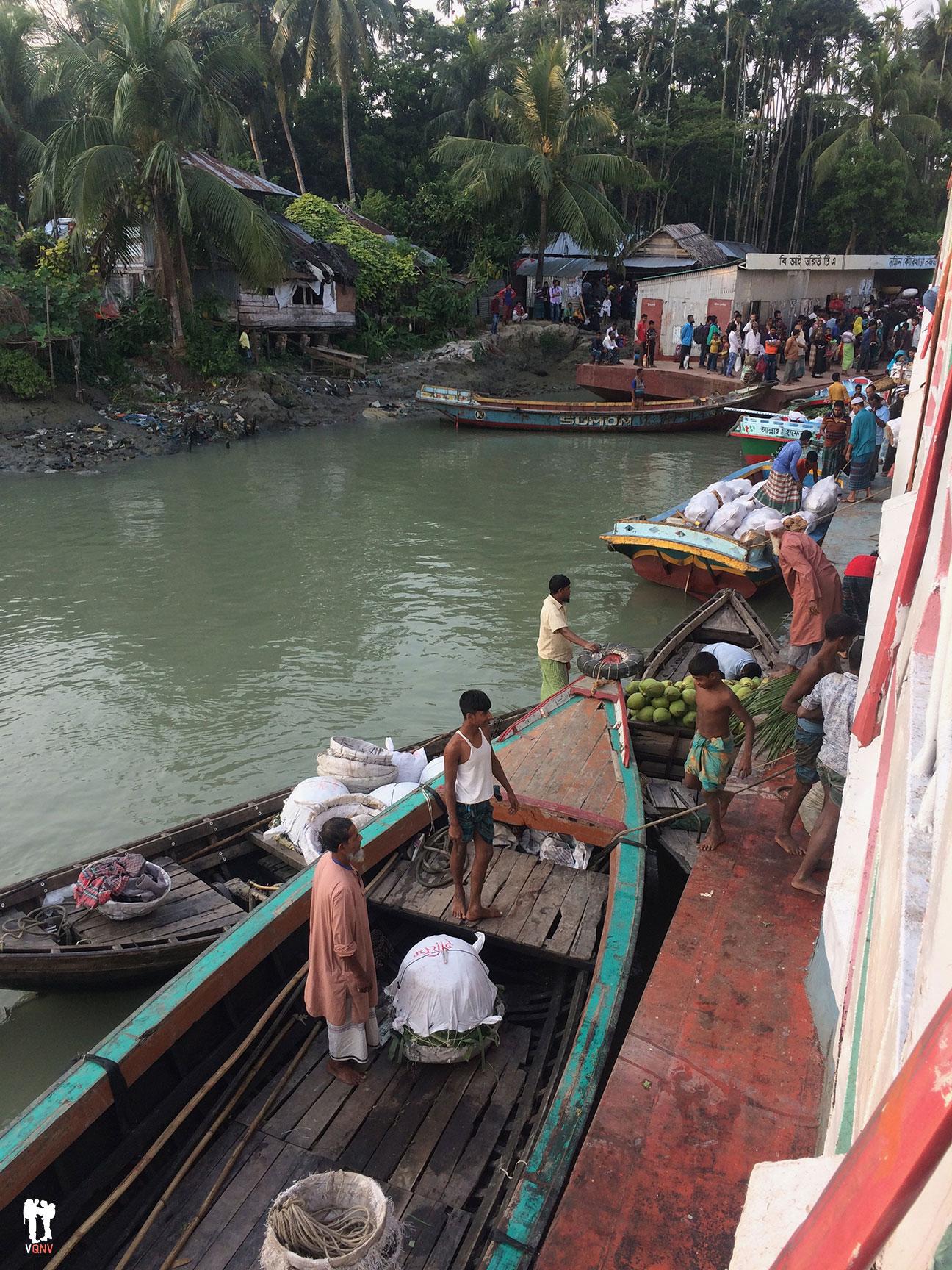 Paradas en el camino a Dhaka