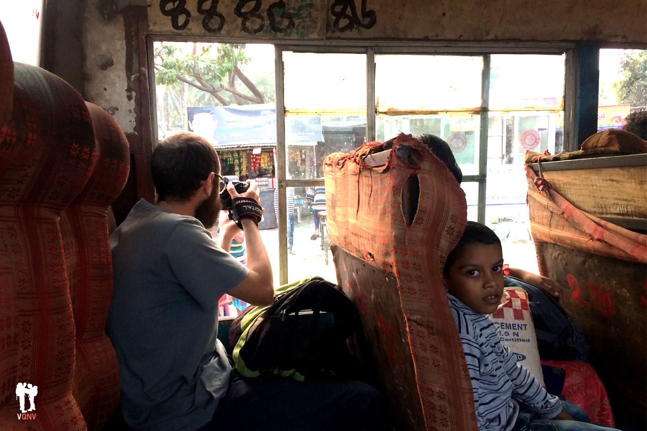 Autobús de camino a Khulna