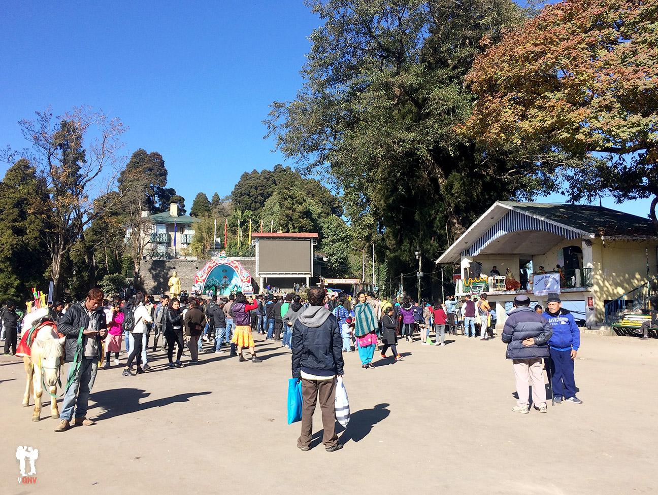 Plaza de Darjeeling